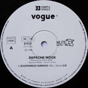 12inch Vinyl Single - Depeche Mode - Blasphemous Rumours