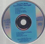 CD - Depeche Mode - Construction Time Again