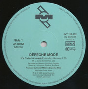 2 x 12inch Vinyl Single - Depeche Mode - It's Called A Heart / Fly On The Windscreen