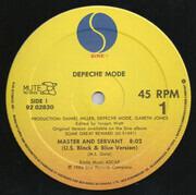 12inch Vinyl Single - Depeche Mode - Master And Servant (U.S. Black & Blue Version)