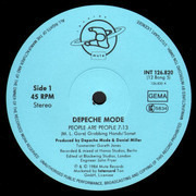 12inch Vinyl Single - Depeche Mode - People Are People (Different Mix)