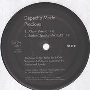 2 x 12inch Vinyl Single - Depeche Mode - Precious