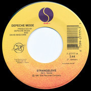7inch Vinyl Single - Depeche Mode - Strangelove