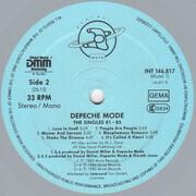 LP - Depeche Mode - The Singles 81 - 85 - Grey Vinyl, +poster