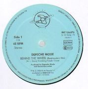 12'' - Depeche Mode - Behind The Wheel (Beatmasters Mix)