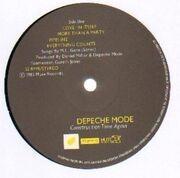 LP - Depeche Mode - Construction Time Again