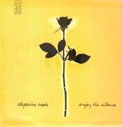 12'' - Depeche Mode - Enjoy The Silence - yellow sleeve