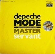 12'' - Depeche Mode - Master And Servant (An ON-USound Science Fiction Dance Hall Classic) - numbered, marbled vinyl