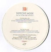 LP - Depeche Mode - Music For The Masses - original