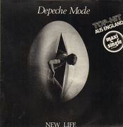 12'' - Depeche Mode - New Life - original german, labelcode on left, stamped 81