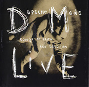 CD - Depeche Mode - Songs Of Faith And Devotion Live