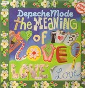12'' - Depeche Mode - The Meaning Of Love - white spine, small GEMA gap