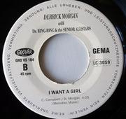 7'' - Derrick Morgan, Dr. Ring-Ding & The Senior Allstars - White Christmas / I Want A Girl