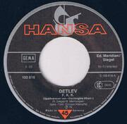 7inch Vinyl Single - Detlev - F.K.K.