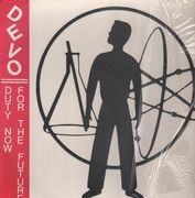 LP - Devo - Duty Now for the Future - embossed cover