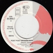 7'' - Devo - Post Post-Modern Man