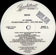 12'' - Devo - Theme From Doctor Detroit - Promo