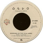 7inch Vinyl Single - Devo - Working In The Coal Mine