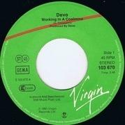 7'' - Devo - Working In A Coalmine