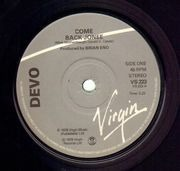 7inch Vinyl Single - Devo - Come Back Jonee