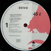 12inch Vinyl Single - Devo - Post Post-Modern Man