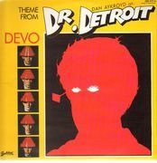 12inch Vinyl Single - Devo - Theme From Doctor Detroit - WITH GERMAN FILM POSTER