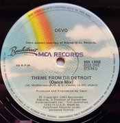 12inch Vinyl Single - Devo - Theme From Doctor Detroit