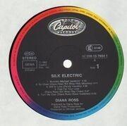 LP - Diana Ross - Silk Electric - MICHAEL JACKSON