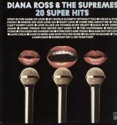 LP - Diana Ross & the Supremes - 20 Super Hits
