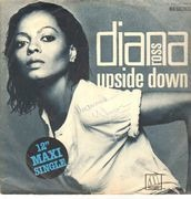 12inch Vinyl Single - Diana Ross - Upside Down