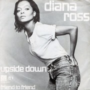 7inch Vinyl Single - Diana Ross - Upside Down