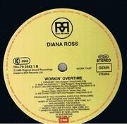 LP - Diana Ross - Workin' Overtime