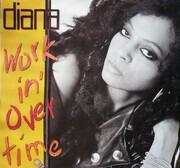 12inch Vinyl Single - Diana Ross - Workin' Overtime