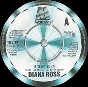 7'' - Diana Ross - It's My Turn