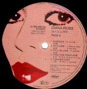 LP - Diana Ross - Silk Electric