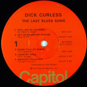 LP - Dick Curless - The Last Blues Song