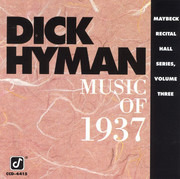 CD - Dick Hyman - Music Of 1937