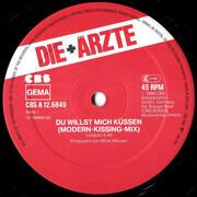 12inch Vinyl Single - Die Ärzte - Du Willst Mich Küssen - Original 12'