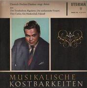 LP - Dietrich Fischer-Dieskau - Musikalische Kostbarkeiten