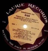 LP - Dion - Runaround Sue - 'Laurie Mastersound' logo