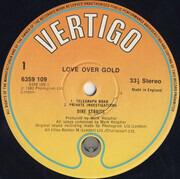 LP - Dire Straits - Love Over Gold