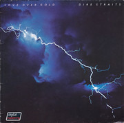 LP - Dire Straits - Love Over Gold