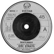 7inch Vinyl Single - Dire Straits - Skateaway