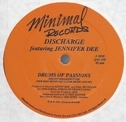 12'' - Discharge - Drums Of Passions