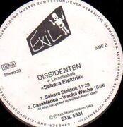 LP - Dissidenten & Lemchaheb - Sahara Electrik - ORIGINAL SLEEVE MISSING