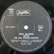 LP - Dizzy Gillespie Meets The Phil Woods Quintet - Dizzy Gillespie Meets The Phil Woods Quintet