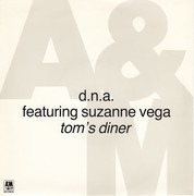 7inch Vinyl Single - DNA Featuring Suzanne Vega - Tom's Diner