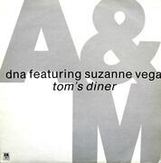 12inch Vinyl Single - DNA Featuring Suzanne Vega - Tom's Diner
