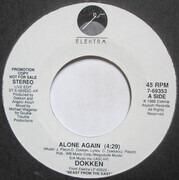 7inch Vinyl Single - Dokken - Alone Again