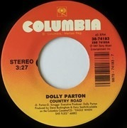 7inch Vinyl Single - Dolly Parton - Country Road